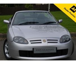 USED 2002 MG MGTF 1.8 135 2D 135 BHP CONVERTIBLE 34,962 MILES IN SILVER FOR SALE | CARSITE