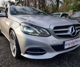 2014 MERCEDES-BENZ E-CLASS AUTO NEW NCT 04/2023 FOR SALE IN DUBLIN FOR €15,950 ON DONEDEAL