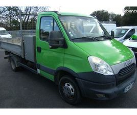 IVECO DAILY CHASSIS SIMPLE CABINE 35C13 BENNE C...