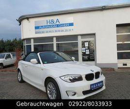 BMW BAUREIHE 1 CABRIO 118I