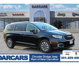 BRAND NEW BLACK COLOR 2021 CHRYSLER PACIFICA HYBRID TOURING-L FOR SALE IN NEW CARROLLTON,