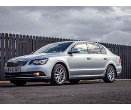 SKODA SUPERB SE GREENLINE LLL 1.6 TDI CR 105PS FOR SALE IN DONEGAL FOR €11,995 ON DONEDEAL