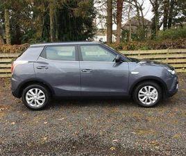 2020 SSANGYONG TIVOLI 1.6 EX (2WD) (S/S) AUTO - £13,495