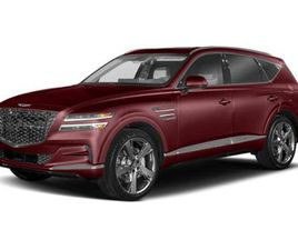 BRAND NEW RED COLOR 2021 GENESIS GV80 3.5T FOR SALE IN NEW ROCHELLE, NY 10801. VIN IS KMUH