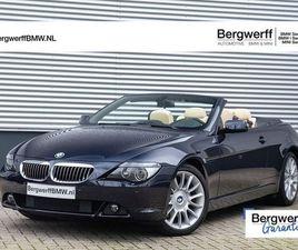 BMW 6 SERIE CABRIO 650I INDIVIDUAL - YOUNGTIMER