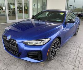 BRAND NEW BLUE COLOR 2021 BMW 4 SERIES M440I XDRIVE FOR SALE IN MECHANICSBURG, PA 17050. V