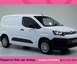 CITROEN BERLINGO LX 2021 FOR SALE IN DUBLIN FOR €13,450 ON DONEDEAL