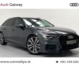 AUDI A6 AVANT 2.0TDI 204BHP S LINE 40 AUTO BLACK FOR SALE IN GALWAY FOR €71,303 ON DONEDEA