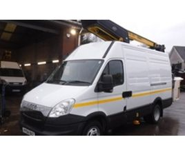 USED 2014 IVECO DAILY 50C 15 MWB CHERRY PICKER , VERSALIFT 38NF HOIST NOT SPECIFIED 80,752