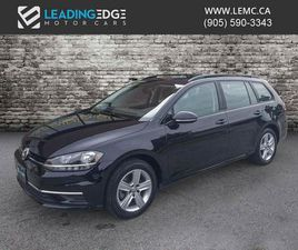 USED 2018 VOLKSWAGEN GOLF SPORTWAGEN 1.8 TSI TRENDLINE AWD, APPLE CAR PLAY AND ANDROID AUT