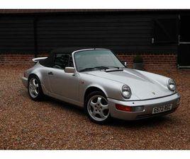 1990 PORSCHE 911 3.6 CARRERA 2 CABRIOLET AUTO - £42,500