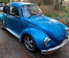VW BEETLE 1303 1641CC TWIN CARB TAX/MOT EXEMPT 2-DOOR