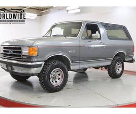 1989 FORD BRONCO FOR SALE