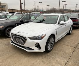 BRAND NEW WHITE COLOR 2021 GENESIS G70 DYNAMIC FOR SALE IN MENTOR, OH 44060. VIN IS KMTG64