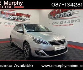 PEUGEOT 308 1.6 HDI ALLURE 64 PER WEEK FINANCE FOR SALE IN LOUTH FOR €11,450 ON DONEDEAL