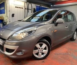USED 2010 RENAULT SCENIC DYNAMIQUE TTOM DCI MPV 91,000 MILES IN GREY FOR SALE | CARSITE
