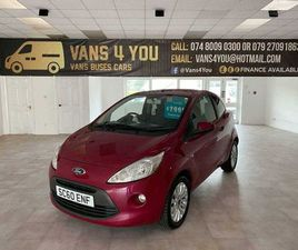 2011 FORD KA 1.2 ZETEC FOR SALE IN DERRY FOR £2,375 ON DONEDEAL