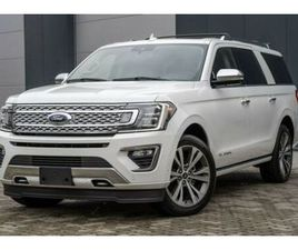 FORD 2020 EXPEDITION MAX PLATINUM € 66200 SOFORT VERF