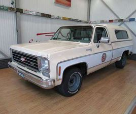 CHEVROLET C10 SCOTTDALE PICK UP LONG BED WITH CAMPERTOP