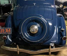 1936 FORD DELUXE 5 WINDOW COUPE WITH RUMBLE SEAT CHROME GRILL