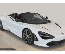 SAVE OVER £34,000.00 OFF LIST – MCLAREN 720S SPIDER INC CARBON PACK 3 + SPORTS EXHAUST + 3