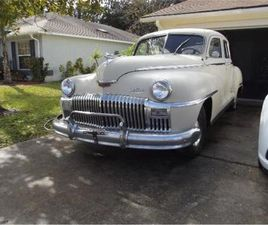FOR SALE: 1948 DESOTO CUSTOM IN CADILLAC, MICHIGAN