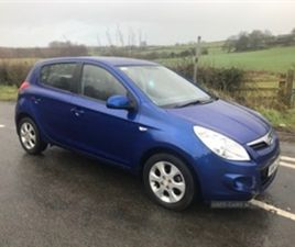 USED 2011 HYUNDAI I20 COMFORT AUTO HATCHBACK 33,000 MILES IN BLUE FOR SALE   CARSITE