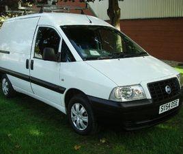 2004 FIAT SCUDO 1.9D PANEL - £3,498