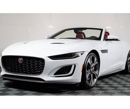 2021 JAGUAR F-TYPE CONVERTIBLE AUTOMATIC FIRST EDITION