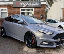 FORD FOCUS 2.0T ECOBOOST ST-3 5DR STRATIFIED 290BHP, CUSTOM REMOTE CONTROL VALVED EXHAUST,