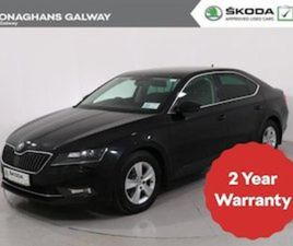 SKODA SUPERB AMBITION 1.6 TDI 120BHP 4DR FOR SALE IN GALWAY FOR €20995 ON DONEDEAL