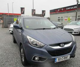 HYUNDAI IX35, 2015/LOW MILEAGE FOR SALE IN CORK FOR €13,750 ON DONEDEAL