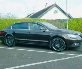2013 SKODA SUPERB 2.0TDI LAURIN & KLEMENT (140PS) HATCHBACK DSG - £7,350