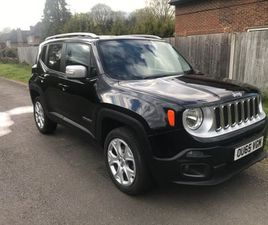 JEEP RENEGADE 2.0 MULTIJETII LIMITED 4WD (S/S) 5DR