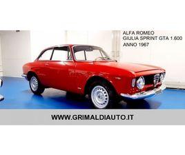 VENDO ALFA ROMEO GTA