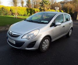 2012 OPEL CORSA 1.0S 5DR 1 NEW NCT 7.22 VERY CLEAN FOR SALE IN CORK FOR €5250 ON DONEDEAL