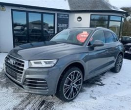 USED 2018 AUDI Q5 S LINE TDI QUATTRO S-A NOT SPECIFIED 53,000 MILES IN GREY FOR SALE | CAR