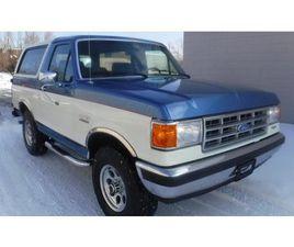 1988 FORD BRONCO XLT 4X4 ALLOY WHEELS