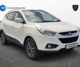 HYUNDAI IX35 PREMIUM 1.7 DIESEL FULL LEATHER FOR SALE IN KILDARE FOR €11,950 ON DONEDEAL