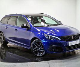 2019 PEUGEOT 308 SW 1.5 BLUEHDI GT LINE - £14,990