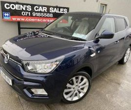 SSANGYONG TIVOLI 1.6 DSL EL 2WD 40000KM FOR SALE IN SLIGO FOR €19990 ON DONEDEAL