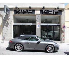 PORSCHE 911 CARRERA S CABRIOLET PDK