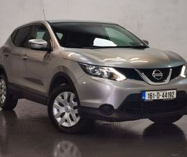 161 NISSAN QASHQAI 1.6DCI COMMERCIAL = NEW CVRT = FOR SALE IN MAYO FOR €10,995 ON DONEDEAL