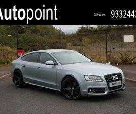 2011 AUDI A5 3.0TD QUATTRO S LINE (240PS) LINE SPORTBACK 5D TRONIC - £9,990