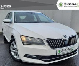 SKODA SUPERB 1.6 TDI 120BHP AMBITION FOR SALE IN CLARE FOR €19500 ON DONEDEAL