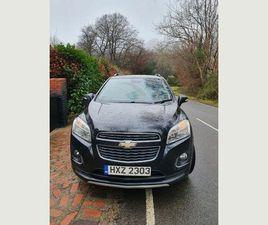 2013 CHEVROLET TRAX 1.7TD LT AUTO - £5,495