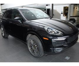 2018 PORSCHE CAYENNE BASE PLATINUM EDITION