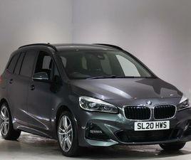 2020 BMW 2 SERIES 2.0TD 220D M SPORT GRAN TOURER 5D AUTO - £25,990