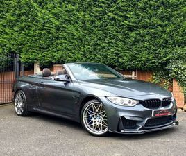 2016 BMW 4 SERIES 3.0 M4 (444BHP) (COMPETITION PACK)(S/S) CONVERTIBLE M DCT - £33,999
