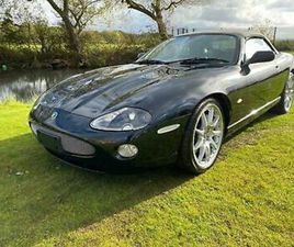 JAGUAR XKR 4.2 SUPERCHARGED CONVERTIBLE ALL BLACK EDITION * ONLY 68141 MILES *